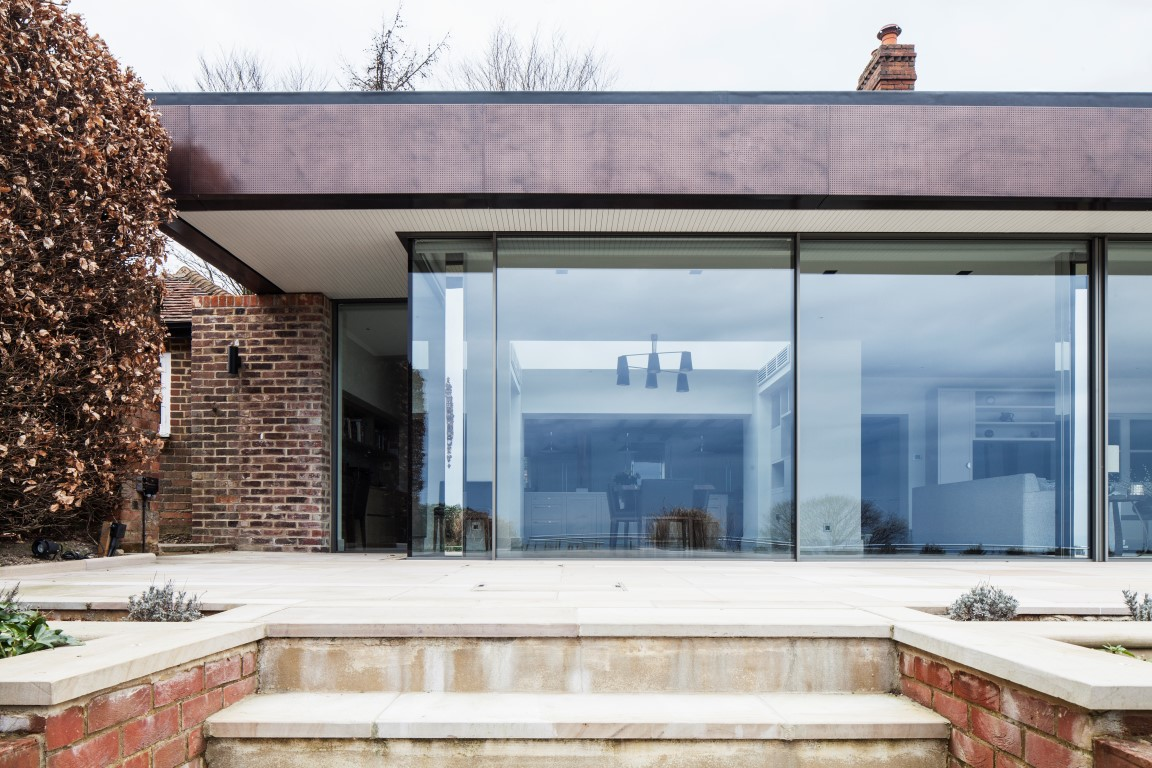 Residential extension project in Surrey