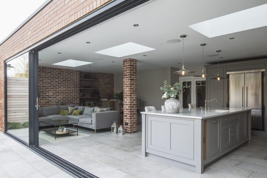 Family Home open plan interior architecture project Hove