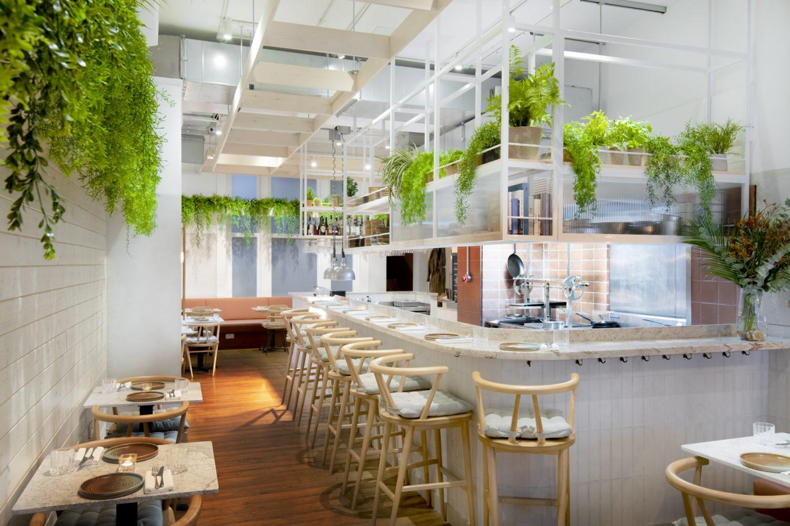 Kindling restaurant interiors