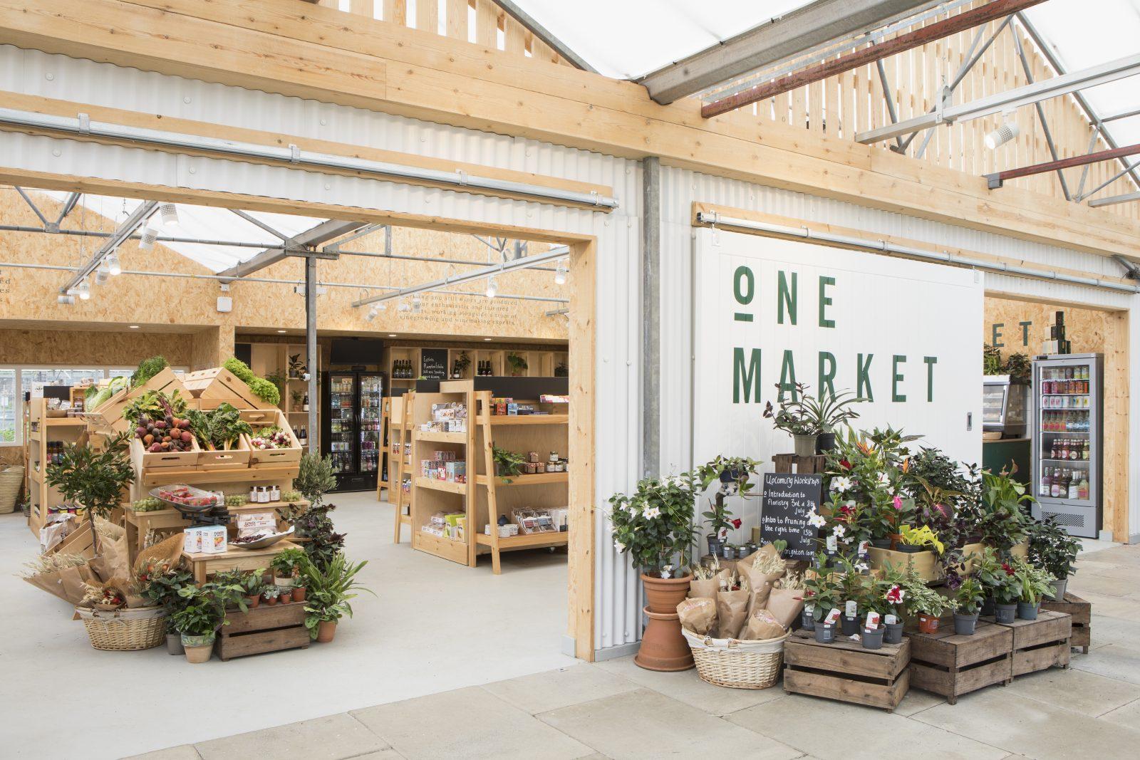 One Garden Market interiors project